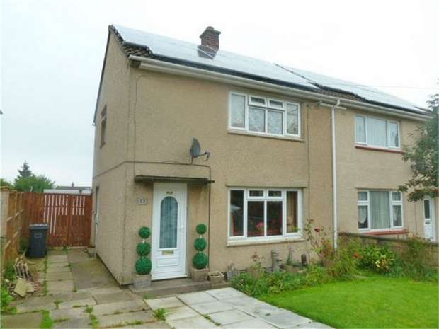 2 Bedrooms Semi Detached House for sale in Sandene Avenue, Huddersfield, West Yorkshire