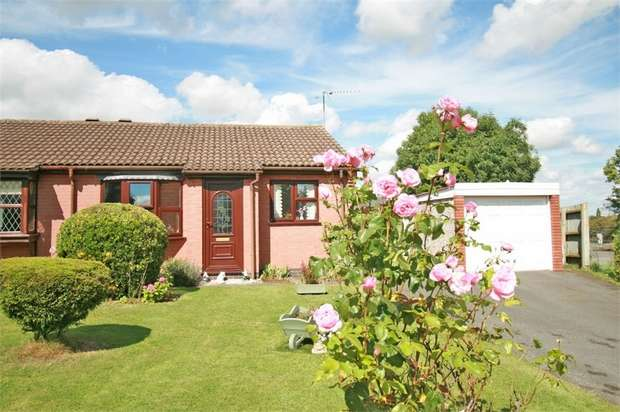 2 Bedrooms Semi Detached Bungalow for sale in Rowan Avenue, Hathern, Loughborough, Leicestershire