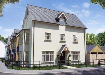4 Bedrooms Mews House for sale in Buckton Fields, Northampton