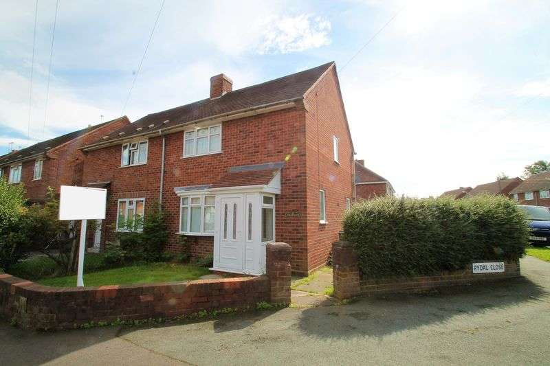2 Bedrooms Terraced House for sale in Rydal Close, Wolverhampton
