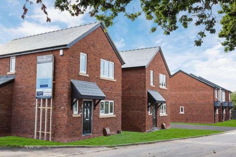 3 Bedrooms Detached House for sale in Plots 1 & 2, Heathview Court, No Mans Heath, Nr Malpas