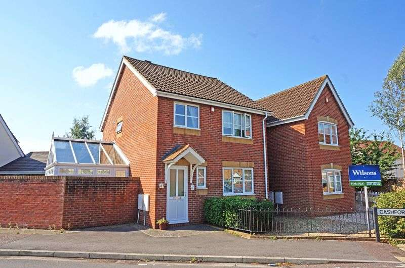 3 Bedrooms Detached House for sale in Cashford Gate, Taunton