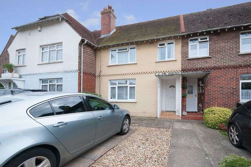 3 Bedrooms Terraced House for sale in Tower Road, Lancing