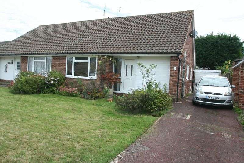 2 Bedrooms Semi Detached Bungalow for sale in Birkdale Close, Worthing