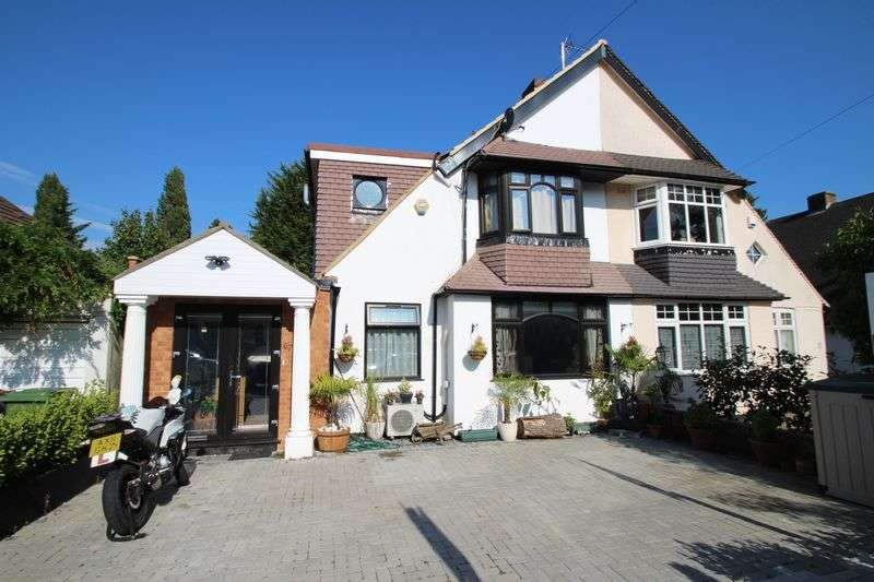 5 Bedrooms Semi Detached House for sale in Sylvia Avenue, Hatch End