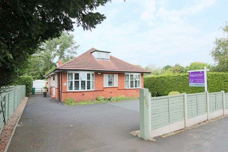 3 Bedrooms Detached Bungalow for sale in Crewe Road, Wistaston