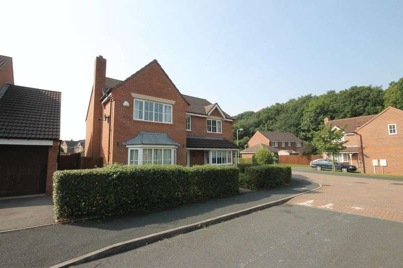 4 Bedrooms Detached House for sale in Weybourne Walk, Telford