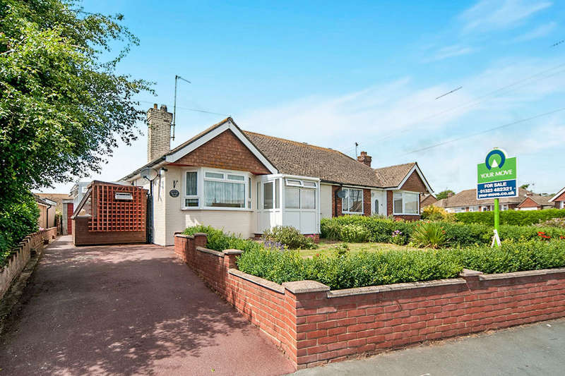 2 Bedrooms Semi Detached Bungalow for sale in Levett Road, Polegate, BN26