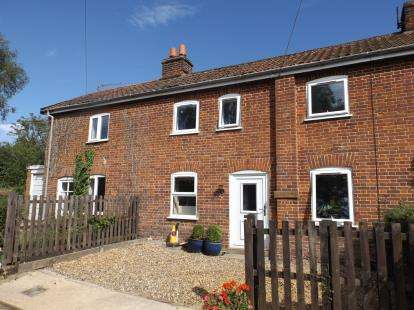 3 Bedrooms Terraced House for sale in School Lane, Runhall, Norwich