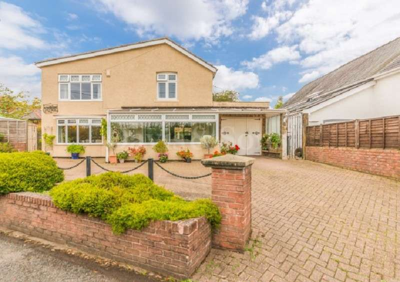 4 Bedrooms Detached House for sale in Church Lane, Coedkernew, Newport, South Wales. NP10 8TU