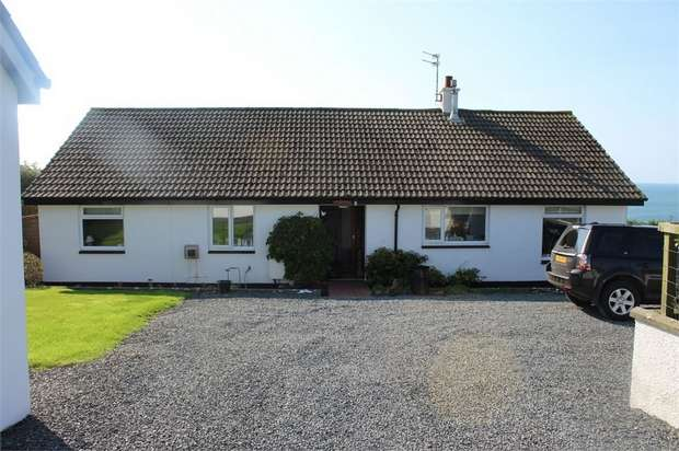 3 Bedrooms Detached Bungalow for sale in Port William, Newton Stewart, Dumfries and Galloway