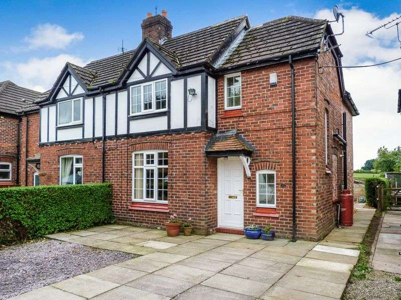 3 Bedrooms Semi Detached House for sale in Ash House Lane, Little Leigh, Northwich, CW8 4RG