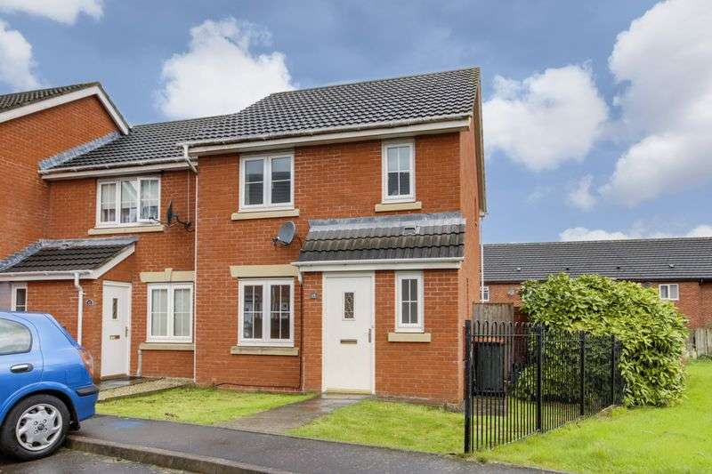 3 Bedrooms Terraced House for sale in Brigantine Close, Newport