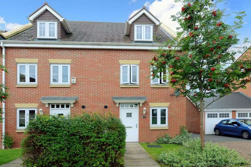 3 Bedrooms Semi Detached House for sale in Highlander Drive, The Humbers, Donnington, Telford, Shropshire.