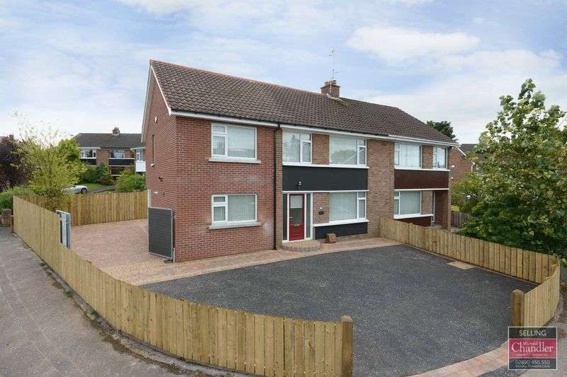 4 Bedrooms Semi Detached House for sale in 110 Greystown Avenue, Belfast, BT9 6UL