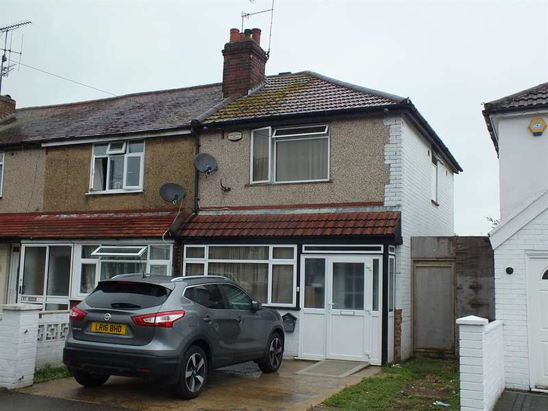 3 Bedrooms End Of Terrace House for sale in Woodstock Gardens, Hayes, , UB4 8BA
