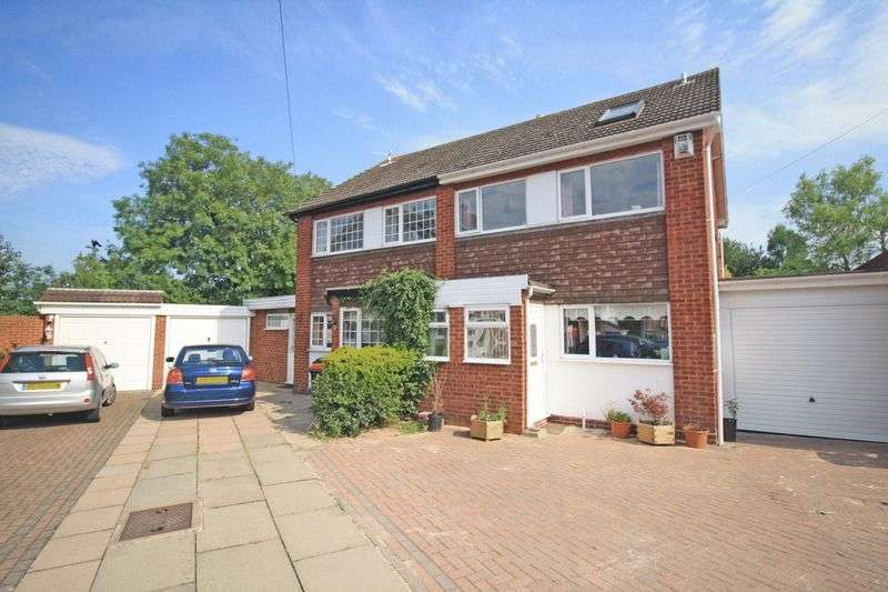 3 Bedrooms Semi Detached House for sale in Hargrave Close, Water Orton