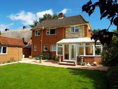5 Bedrooms Detached House for sale in Horton Heath, Eastleigh, Hampshire