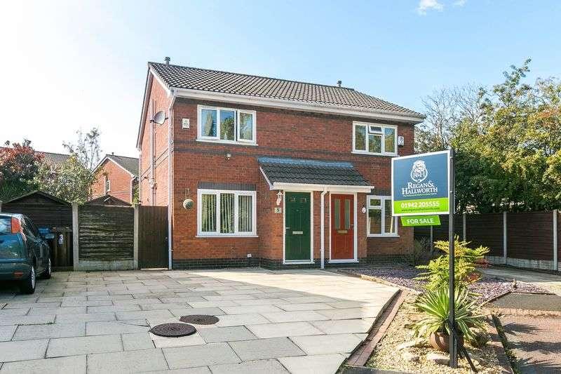 2 Bedrooms Semi Detached House for sale in Alder Lee Close, Winstanley, WN3 6JR