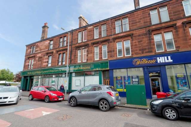 1 Bedroom Flat for sale in 852 Crow Road, Anniesland, Glasgow, G13 1HU
