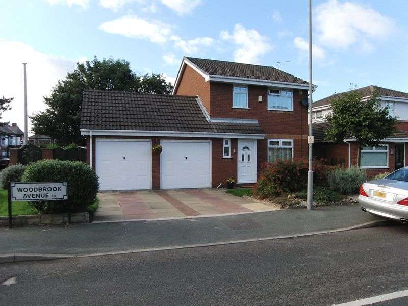 3 Bedrooms Detached House for sale in Woodbrook Avenue, Liverpool