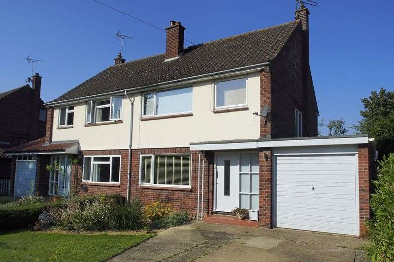 3 Bedrooms Semi Detached House for sale in Walpole Road, Halesworth