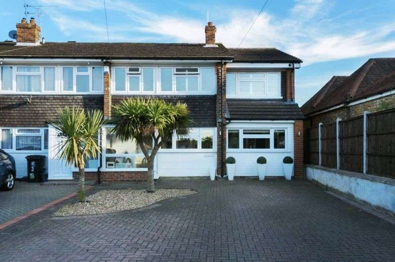5 Bedrooms Terraced House for sale in 5 bedroom end of terrace house for sale, Maypole Drive, Chigwell, Essex, IG7