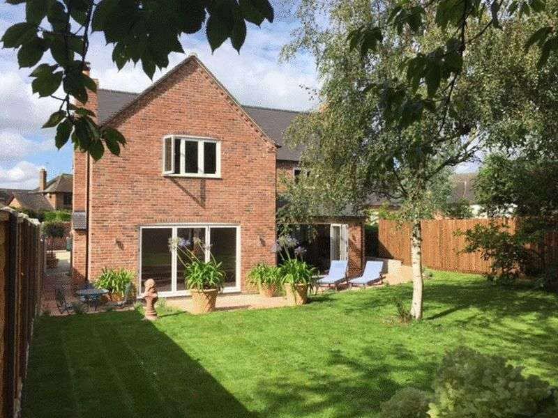 4 Bedrooms Detached House for sale in Barrow Lane, Swarkestone, Derbyshire DE73 &GR