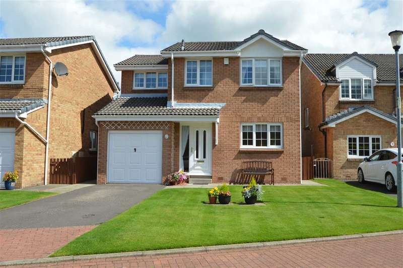 4 Bedrooms Detached House for sale in General Roy Way, Carluke