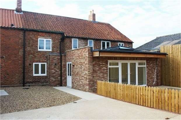 4 Bedrooms Semi Detached House for sale in Westgate, Rillington, Malton, North Yorkshire