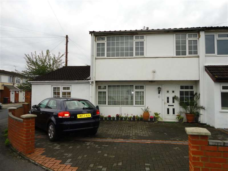 4 Bedrooms Semi Detached House for sale in Tintern Close, Slough, Berkshire, SL1 2TA