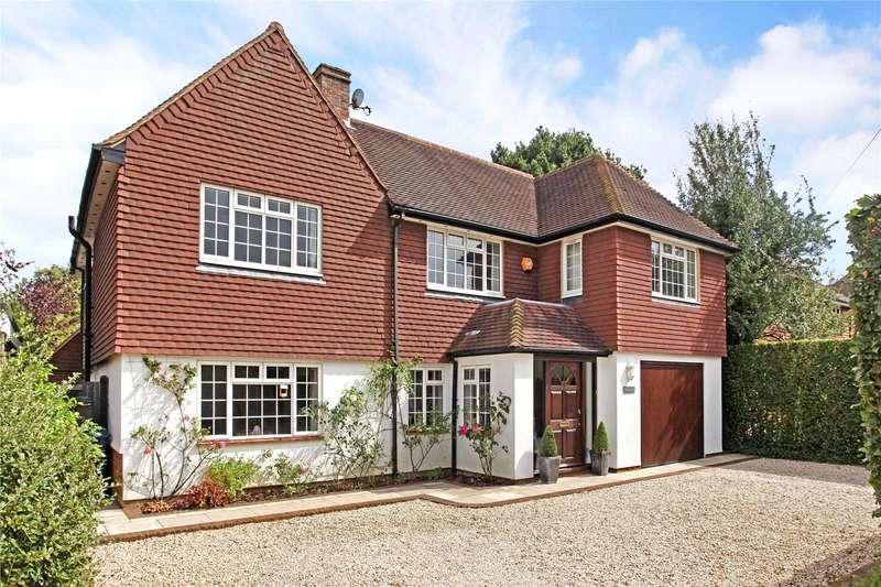 5 Bedrooms Detached House for sale in Grosvenor Road, Godalming, Surrey, GU7