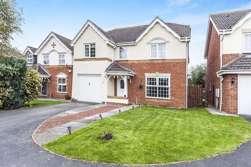5 Bedrooms Detached House for sale in Pease Court, Eaglescliffe, Stockton-On-Tees, TS16