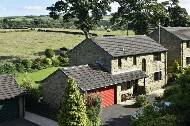 5 Bedrooms Detached House for sale in White Wells Gardens, Scholes, HOLMFIRTH, West Yorkshire