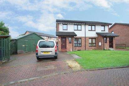 3 Bedrooms Semi Detached House for sale in Dunskaith Place, Glasgow, Lanarkshire