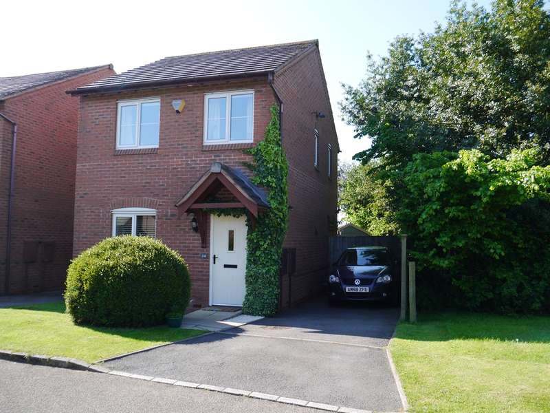 2 Bedrooms Detached House for sale in Hawkhurst Drive, Hill Ridware, WS15 3RN