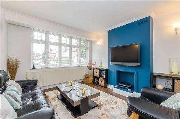 3 Bedrooms Semi Detached House for sale in Elmwood Close, WALLINGTON, Surrey, SM6 7EP