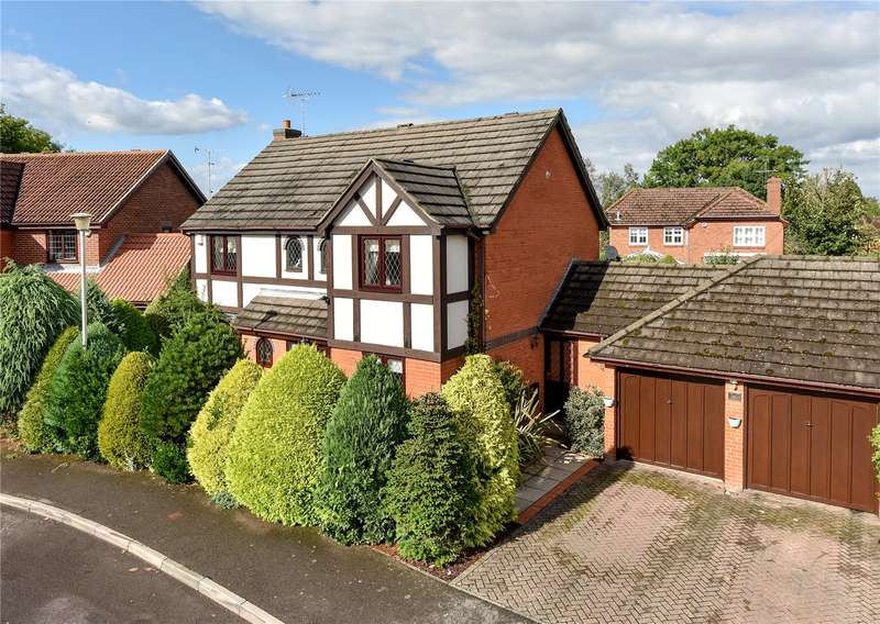4 Bedrooms Detached House for sale in Stevenson Drive, Binfield, Berkshire, RG42