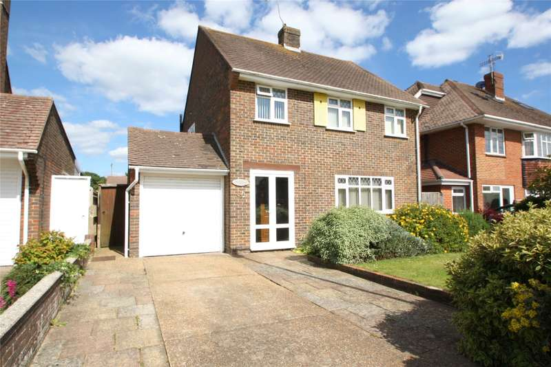3 Bedrooms Detached House for sale in Alinora Avenue, Goring-By-Sea, Worthing, BN12