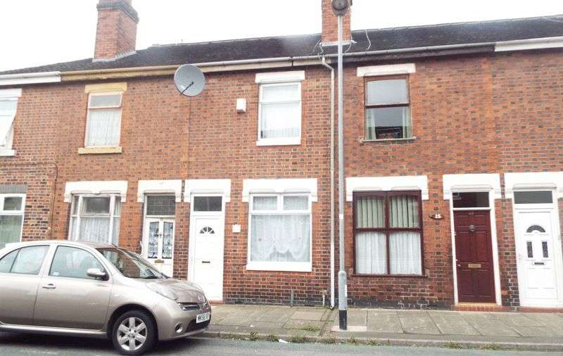 2 Bedrooms Terraced House for sale in Nicholls Street, Stoke, Stoke-On-Trent