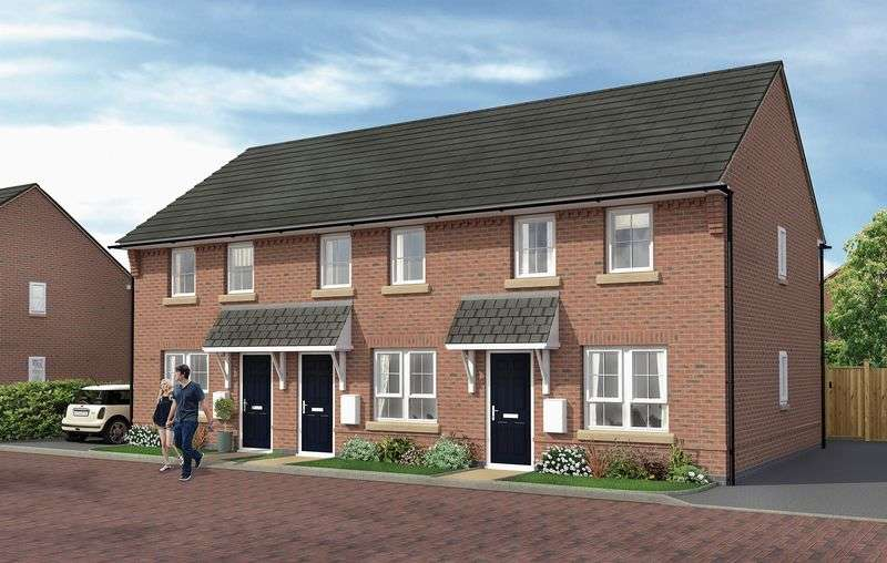 2 Bedrooms Semi Detached House for sale in Primrose Close, East Leake