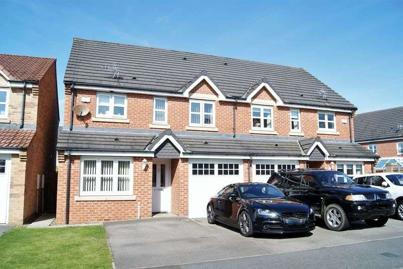 3 Bedrooms Semi Detached House for sale in The Brambles, New Hartley