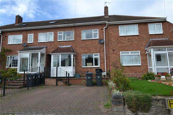 4 Bedrooms Terraced House for sale in Weybourne Road, Great Barr, Birmingham