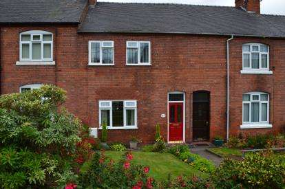 3 Bedrooms Terraced House for sale in Rectory Lane, Off Rugeley Road, Armitage, Staffordshire