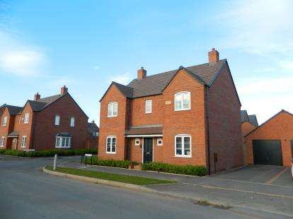 4 Bedrooms Detached House for sale in Redhill Way, Wellesbourne, Warwick