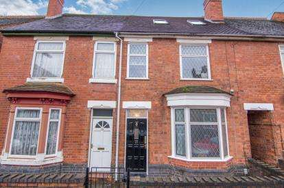 4 Bedrooms Terraced House for sale in Heath Street, Tamworth, Staffordshire, Arrange With Vendor
