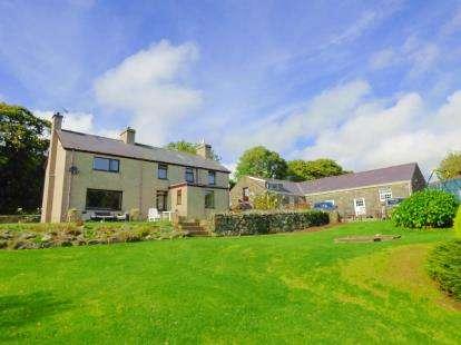 4 Bedrooms Detached House for sale in Llanystumdwy, Criccieth, Gwynedd, LL52