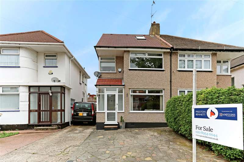 4 Bedrooms Semi Detached House for sale in Felbridge Avenue, Stanmore, HA7