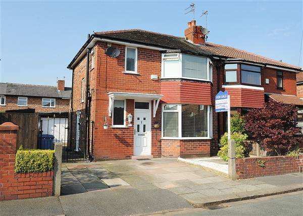 3 Bedrooms Semi Detached House for sale in 5 Shirley Avenue, Eccles, M30 7EW