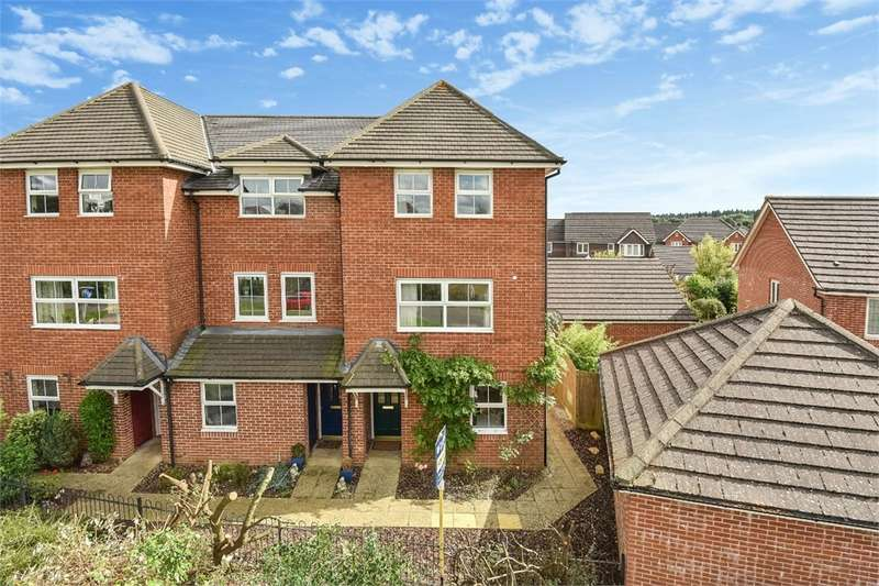 4 Bedrooms End Of Terrace House for sale in Beggarwood, BASINGSTOKE